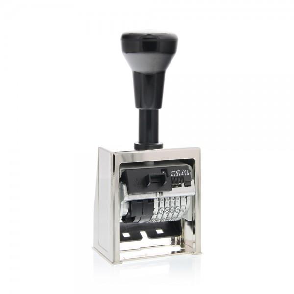 Folioteur Reiner cage métallique - 6 chiffres - 5,5mm- B6-3
